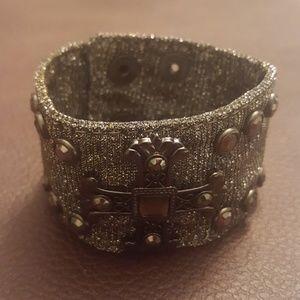 Jewelry - Cross cuff bracelet